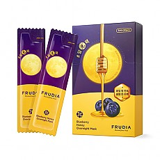 [FRUDIA] Bluberry Honey Overnight Mask (20pcs)