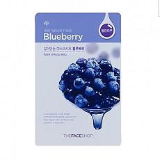 [THE FACE SHOP] Real Natural Mask 1ea #Blueberry